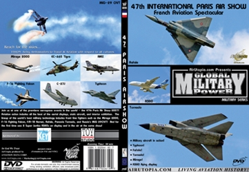 47th International Paris Air Show (DVD), Air Utopia Aviation DVDs Item Number AUT66