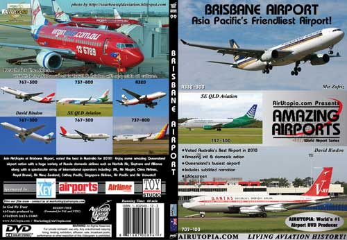 Brisbane Airport, Air Utopia Aviation DVDs Item Number AUT99