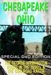 Chesapeake And Ohio (DVD), Non-Fiction Video Aviation DVDs Item Number DV419