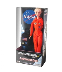 Astronaut Doll In Orange Suit, Daron Toys, Item Number DA347