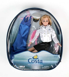 Costa Captain Doll In Backpack by Daron Toys Item Number DA8792