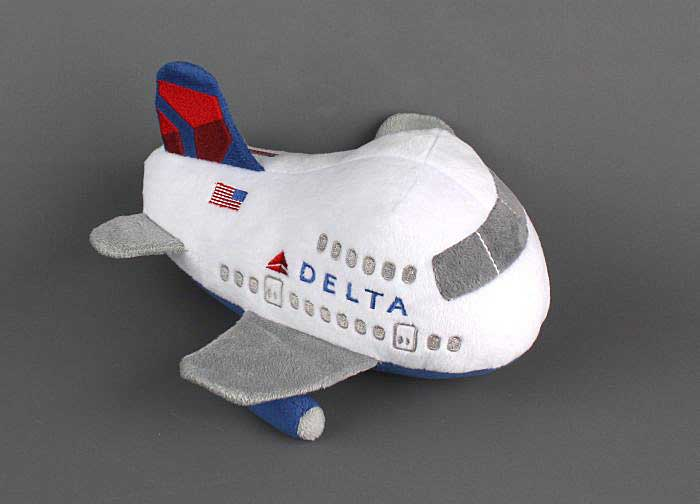 Delta Airlines Plush Toy, New Livery, Pilotwear, Item Number MT005-1