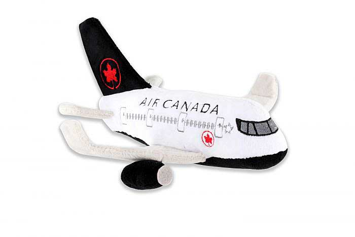 "Air Canada Plush Toy ""New Colors"" with Sound, Daron Toys, Item Number MT022-1"