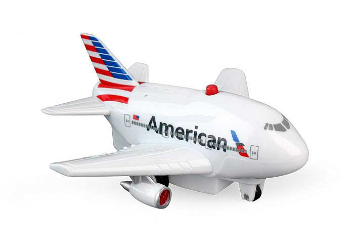 American Pullback With Lights & Sound - New Colors!, Toytech, Item Number TT329-1