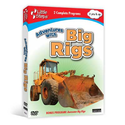 Adventures with Big Rigs (DVD)