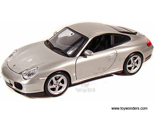Porsche 911 Carrera 4S Hard Top (1:18, Silver) 31628