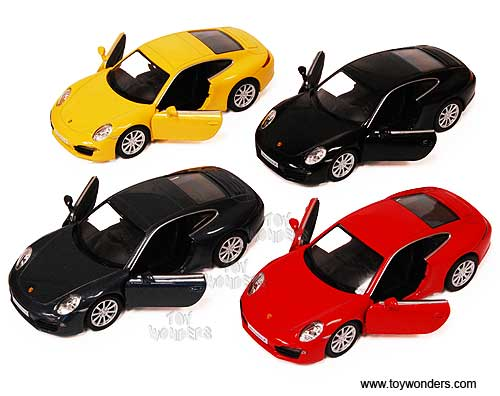 Porsche 911 Carrera S Hard Top (1:35, Assorted Colors) - Color may vary - Price is for individual item, RMZ City Item Number 555010