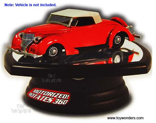 1/32 Scale Diecast Model Car Rotating Display Stand (with mirror base)
