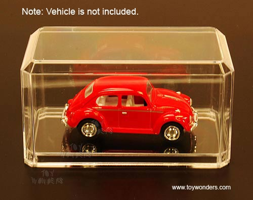 1/64 Scale Diecast Model Car Acrylic Display Cases