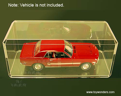 1/18 Scale Diecast Model Car Acrylic Display Cases