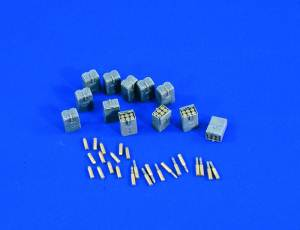 Ammo & Cases For 5Cm 1:35, Verlinden Model Kits Item Number VER1657