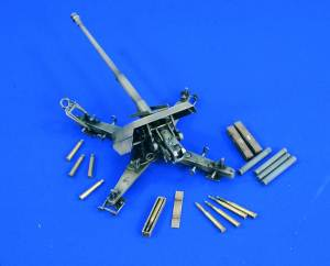 88Mm Anti-Tank Gun Pak 43 1:35, Verlinden Model Kits Item Number VER1667