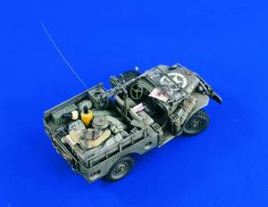 50 Cal Machine Guns 1:35, Verlinden Model Kits Item Number VER1729