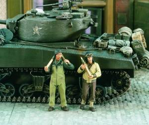 Ammo Loading Us 2Fig 1:35, Verlinden Model Kits Item Number VER1960