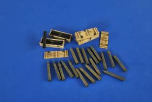 Ammo For Ontos 106Mm Recoiless, Verlinden Model Kits Item Number VER2595