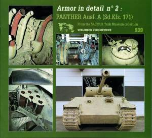 Armour In Detail #2 Panther, Verlinden Model Kits Item Number VER939