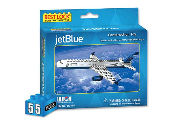 Jet Blue 55 Piece Construction Toy