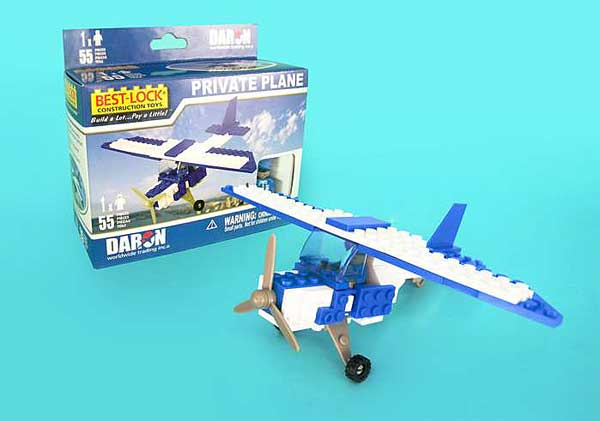 Private Plane 55 Piece Construction Toy