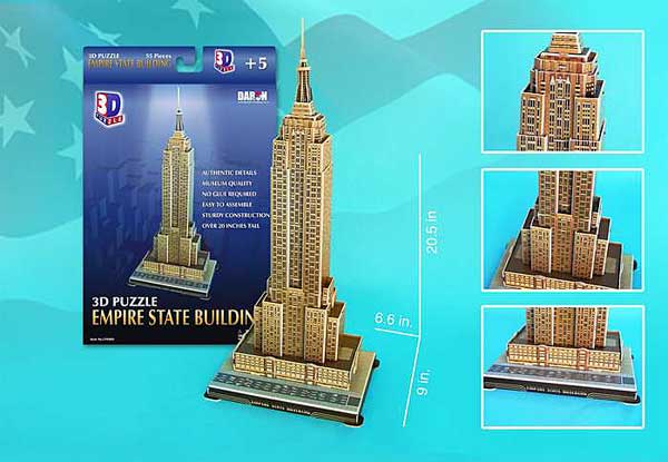 Empire State Building 56 Piece 3D Puzzle