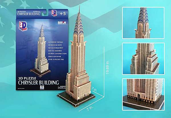 Chrysler Building 70 Piece 3D Puzzle