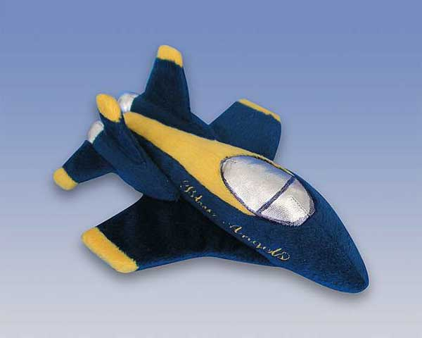 Blue Angels Plush Toy - No Sound, Daron Toys Item Number MT017