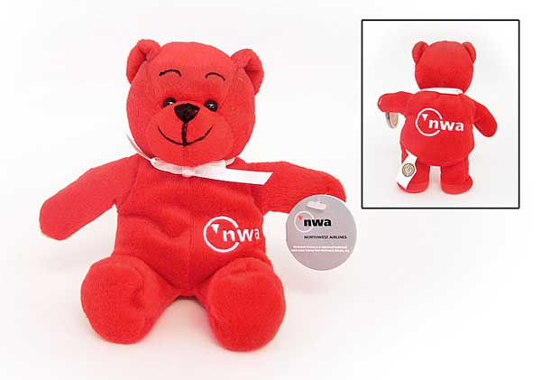 Northwest Plush Teddy Bear, Pllotwear Item Number MTB7005