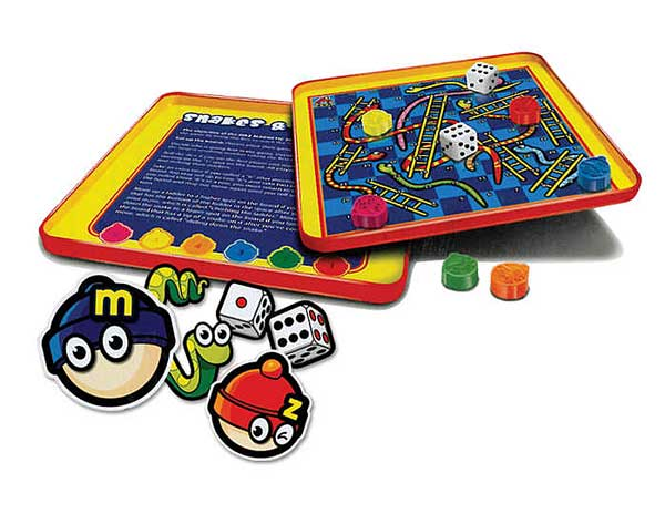 Snakes & Ladders Magnetic Travel Game, Travel Games Item Number MZ660054