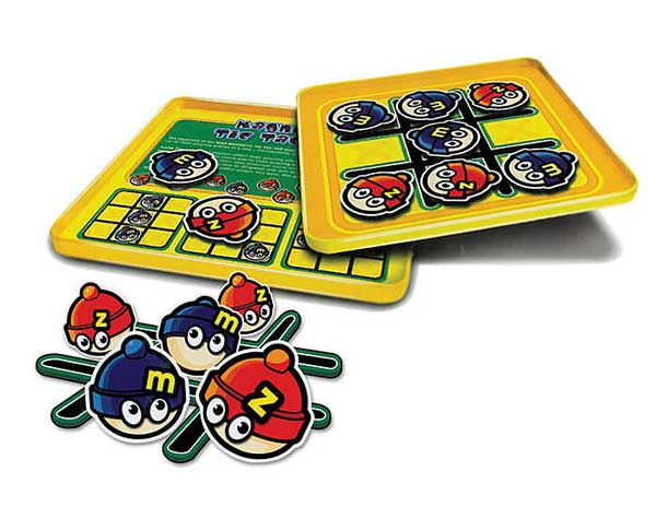 Tic Tac Toe Magnetic Travel Game, Travel Games Item Number MZ660061