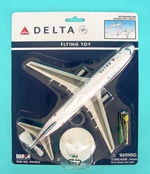 Delta Flying Airplane, Daron Toys Item Number PR4002