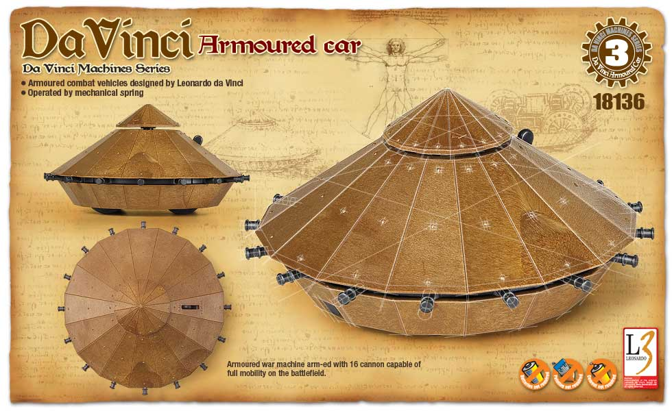 DaVinci Machine Series Armored Car