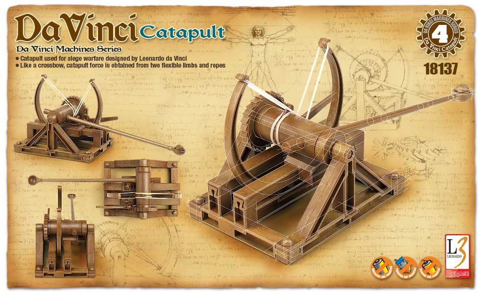 DaVinci Machine Series Catapult
