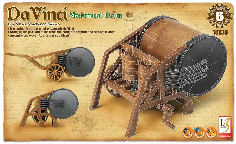 DaVinci Machine Series Drum