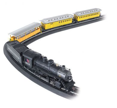 Durango & Silverton Train Set (HO), Bachmann Model Trains Item Number BAC710