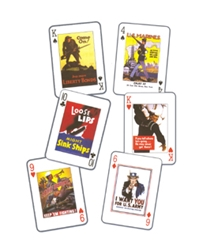 USA Posters of WW I & II playing cards, Born Aviation Aviation Gifts Item Number AN-USA