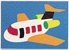 Airplane Crepe Puzzle