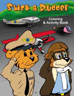 Stick and Rudder Coloring Book