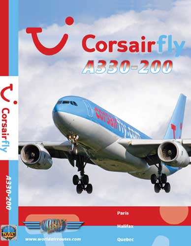 Corsairfly A330-200 (DVD), Just Planes Aviation DVDs Item Number JPCRL4