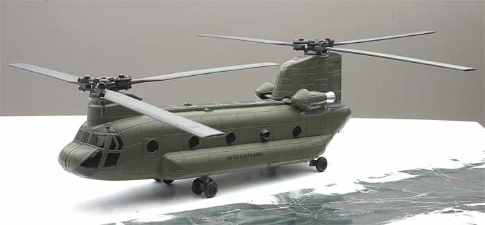 US Army Boeing CH-47 Chinook (1:110), New Ray Diecast Item Number 25793