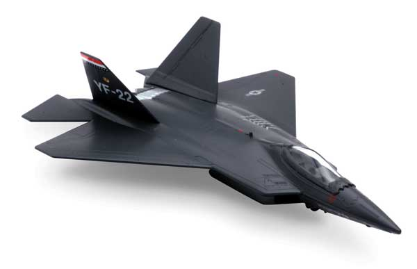 F-22 Raptor (1:72) Easy Build Models Easy-YF-22, Easy Build Toy Airplane Models Item Number IN-EZYF22