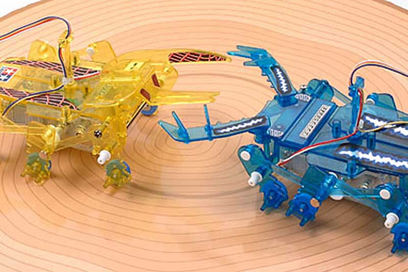 Insect Battle Set - 2-Channel Remote Control, Tamiya Plastics Item Number TAM71120