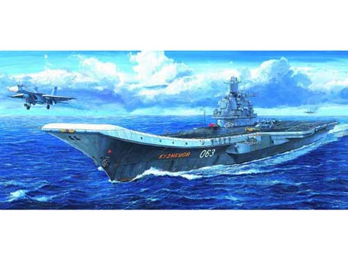 Adm Kuznetsov Carrier (1:700), Trumpeter Item Number TRP5713