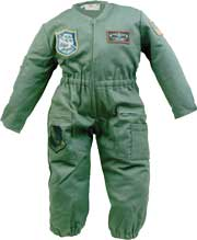 Youth Flight Suit, Olive Green, Pilotwear Item Number ED013-OGT