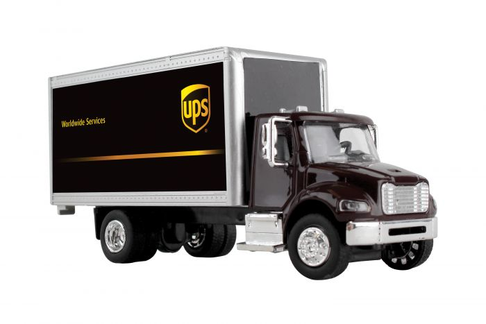 UPS Box Truck (1:50 Scale) by Realtoy Diecast Toys item number: GWUPS001