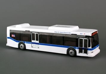 MTA Hybrid Bus, Realtoy Diecast Toys Item Number RT8468