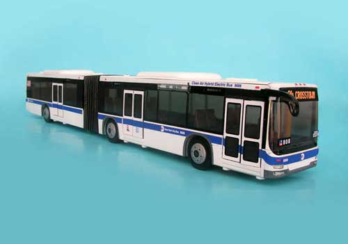 MTA Articulated Bus, Realtoy Diecast Toys Item Number RT8563
