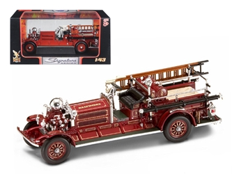 1925 Ahrens Fox N-S-4 Fire Engine Red (1:43)