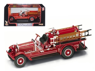1924 Stutz Model C Fire Engine Red (1:43), Road Signature Item Number ROS43006R