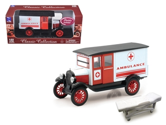 1924 Chevrolet Series H Ambulance (1:32), New Ray Item Number SS-55073A