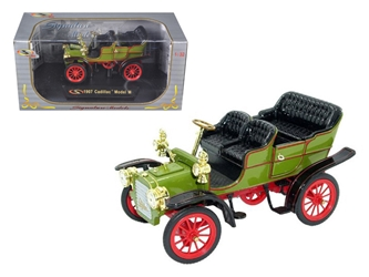 1907 Cadillac Model M Green (1:32), Signature Models Item Number 32360GRN