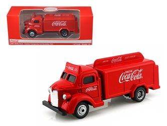 1947 Coca Cola Delivery Bottle Truck Red (1:87) HO Scale